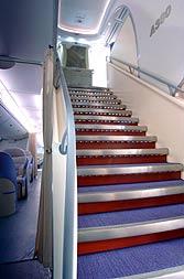 A380 MSN007 main stairs