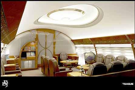 Boeing 787 BBJ interior W445