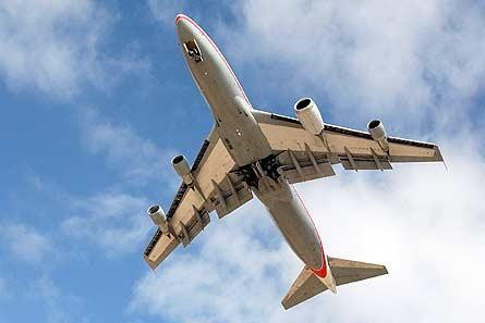 GEnx 1B on 747 testbed W445