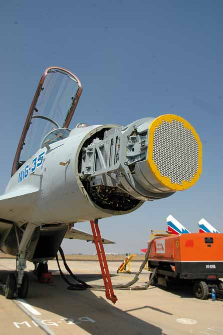 MiG-35 nosecone removed