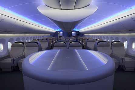 Boeing cabin