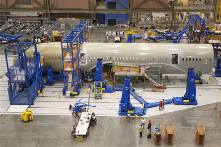 Boeing 787 assembly 1