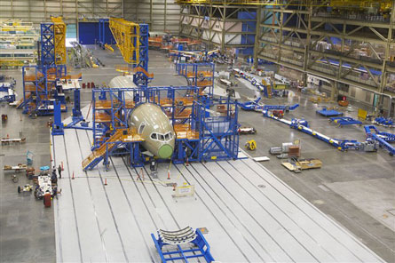 Boeing 787 assembly 2