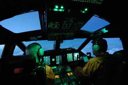 C-27J flightdeck