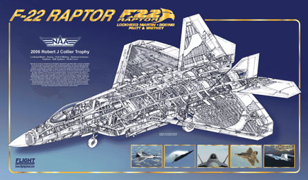 F-22 cutaway