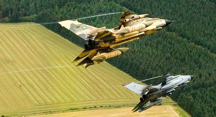RSAF and RAF Tornados