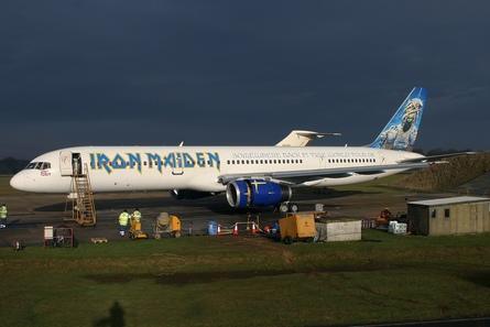 Iron Maiden 757 side