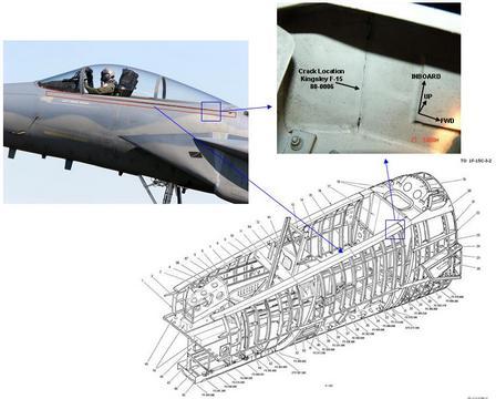 F-15 longeron location
