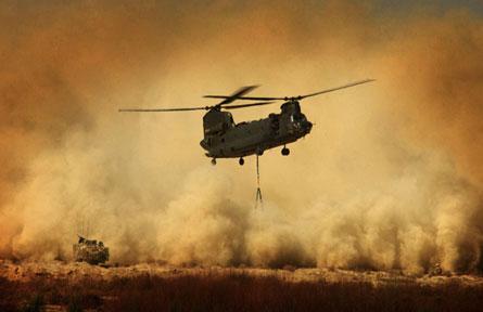 Chinook sandstorm