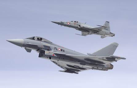 Typhoon F-5 Austria