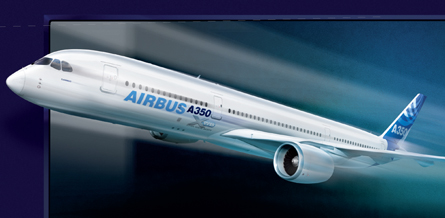 A350 XWB new nose ad