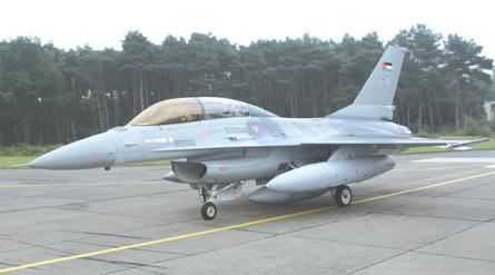 F-16A Jordan - Joris van Boven