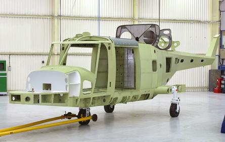 Future Lynx airframe - GKN