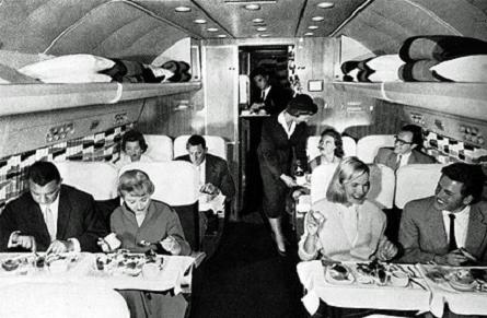 Lufthansa Starliner interior