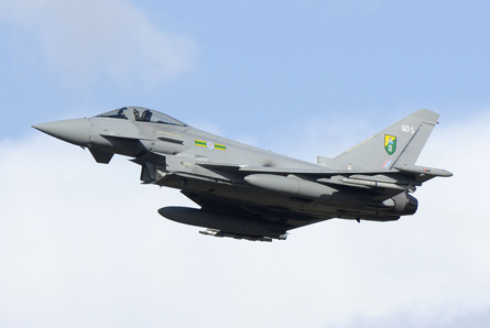 Typhoon 3 Sqn - Geoffrey Lee