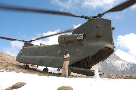 Chinook high - CH