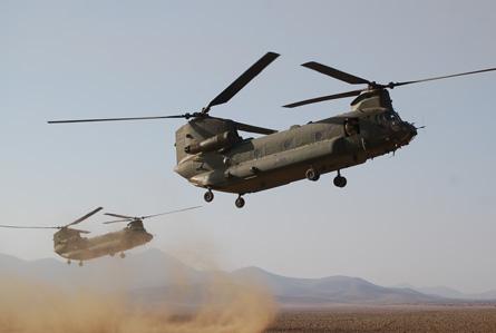 Chinooks dust - CH