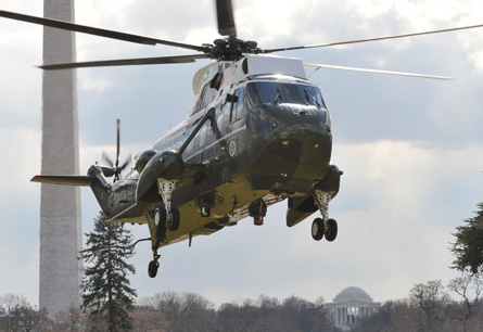 Marine One - Ron Sachs Rex Features