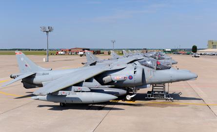Harrier GR9As - Denis Calvert