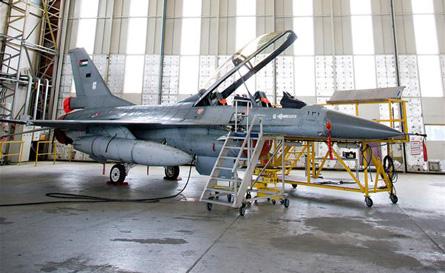 Jordan F-16 - Dutch MoD