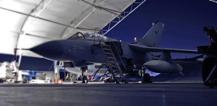 Tornado GR4 Afghanistan - Crown Copyright