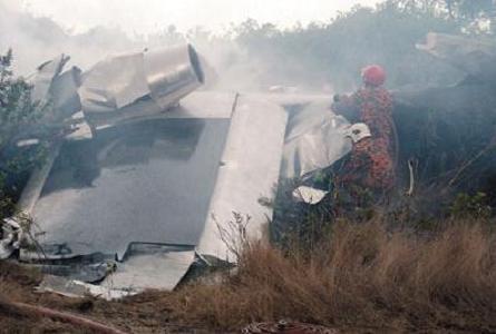 Jetpod crash