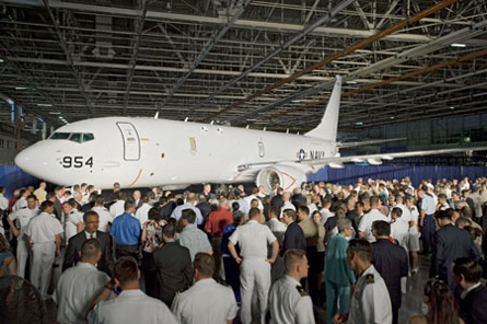 P-8A roll out - Boeing