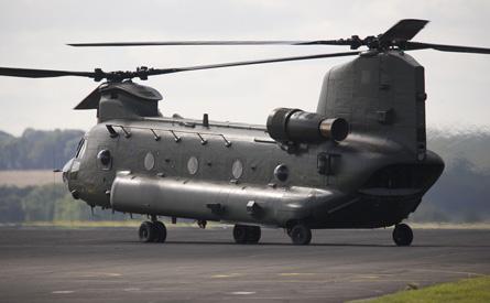 RAF Chinook - Crown Copyright