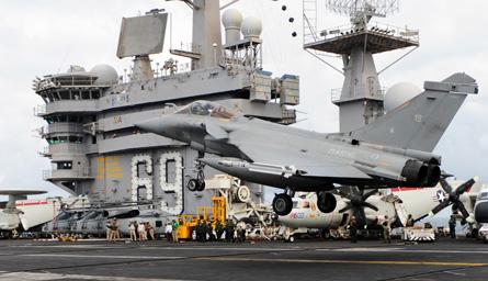 Rafale Roosevelt - US Navy