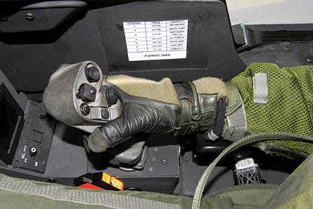 Rafale sidestick - Dassault