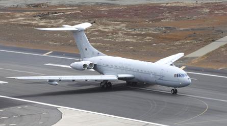 VC10 Falklands - Crown Copyright