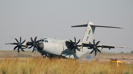 A400M lands - CH