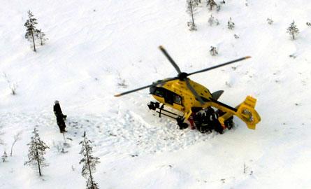 Finnish F-18D crash rescue - Finnish air force