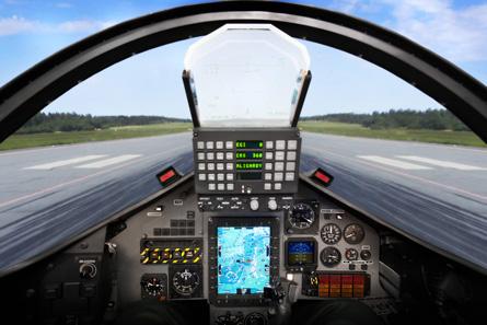 Hawk cockpit upgrade - Patria