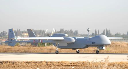 Eitan UAV ground - IAI