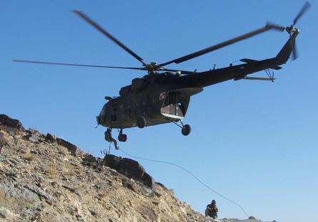 Mi-17 Afghanistan - Polish defence ministry