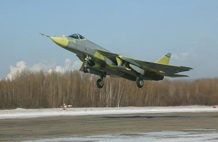 PAK FA take off - Sukhoi