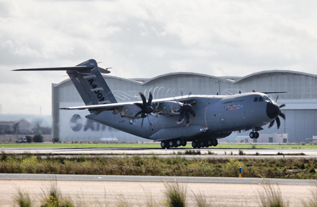 A400M MSN001 to TLS - Airbus Military