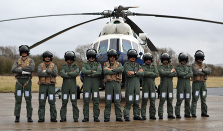 Afghan Mi-17 pilots - Qinetiq