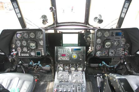 Mi-17 cockpit - CH FINT
