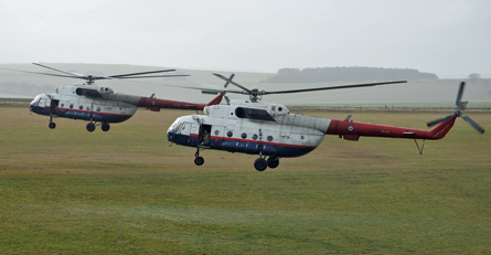 Mi-17 pair - Qinetiq