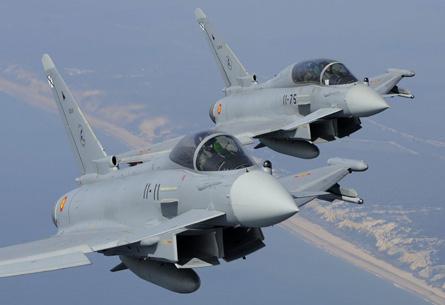Eurofighters Spain - Geoffrey Lee Eurofighter