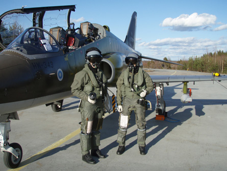 Hawk sampler - Finnish air force