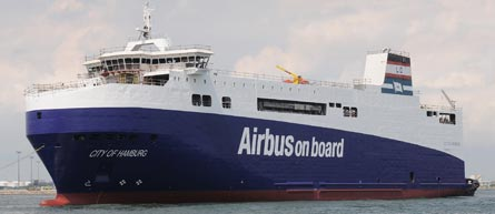 Airbus on board boat, ©Airbus