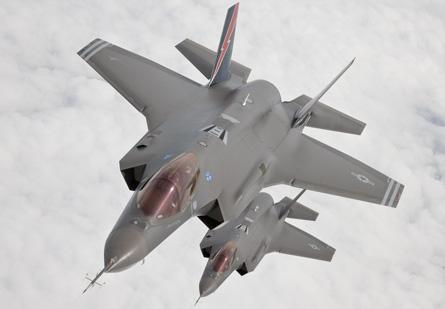 F-35A JSF pair - Lockheed Martin
