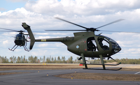 Finnish army MD500 - Craig Hoyle
