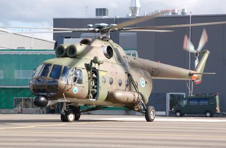 Finnish Mi-8 11 - Craig Hoyle