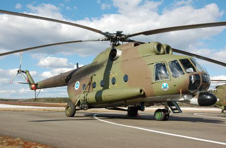 Finnish Mi-8 13 - Craig Hoyle