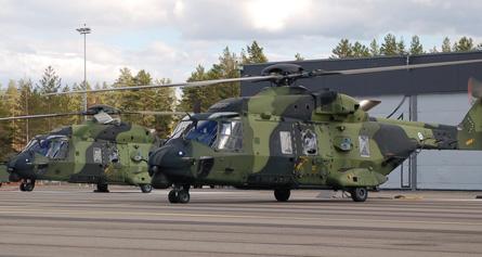 NH90 pair Finland - Craig Hoyle