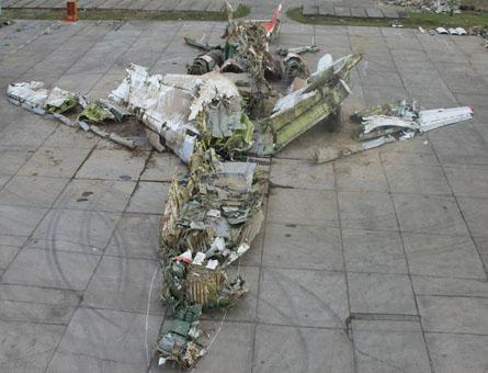 Tu-154 wreck